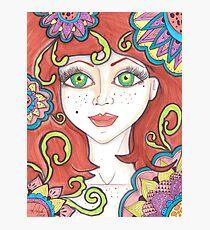 freckle Fairy Photographic Print