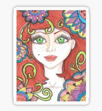 freckle Fairy Sticker