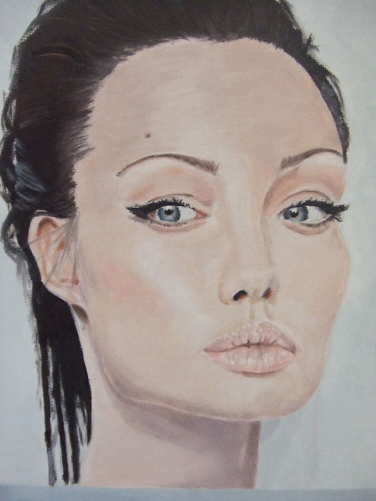 Angelina Jolie by Ffion Rees