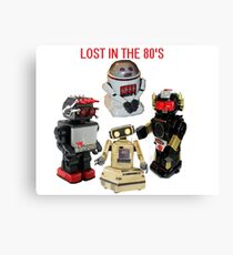 LOST IN THE 80'S Canvas Print