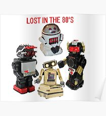 LOST IN THE 80'S Poster