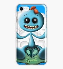 Meeeeeeeseeks illustration iPhone Case/Skin