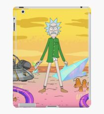 Breaking Rick Parody iPad Case/Skin