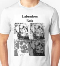 Labradors Rule Unisex T-Shirt