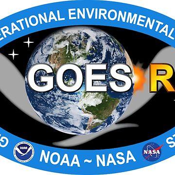 GOES-R Program Logo by Quatrosales