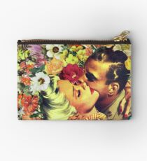 Floral Bed 2 Studio Pouch