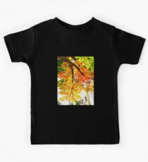 from under the shade tree in autumn Kids Tee