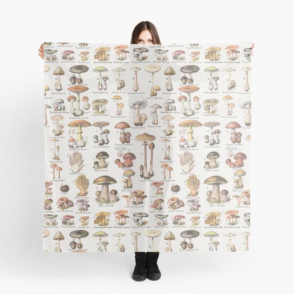 Mushrooms Scarf