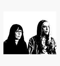 Toni and Candace Photographic Print