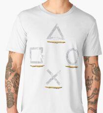 Adventurous Button Icons (Ver. 1) Men's Premium T-Shirt