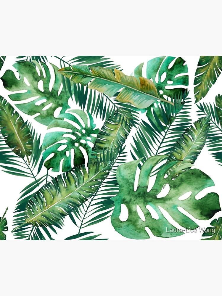 Monstera Bananen Palmblatt von crazycanonmom