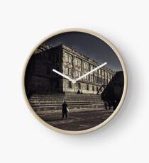 Alcatraz Prison (Black And White)   Clock