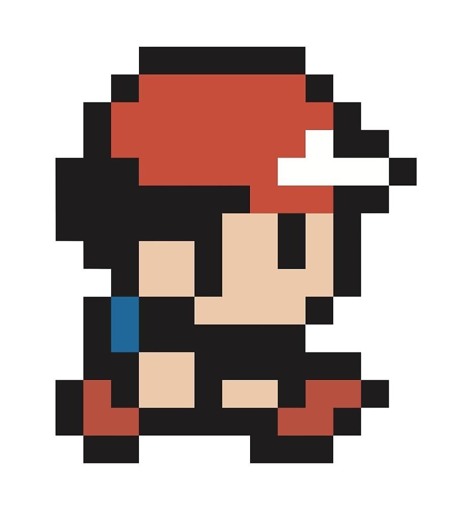 ash ketchum pokemon pixel
