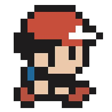 Ash Ketchum - Pokemon - Pixel by PixelProducts