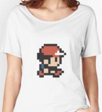 Ash Ketchum - Pokemon - Pixel Women's Relaxed Fit T-Shirt