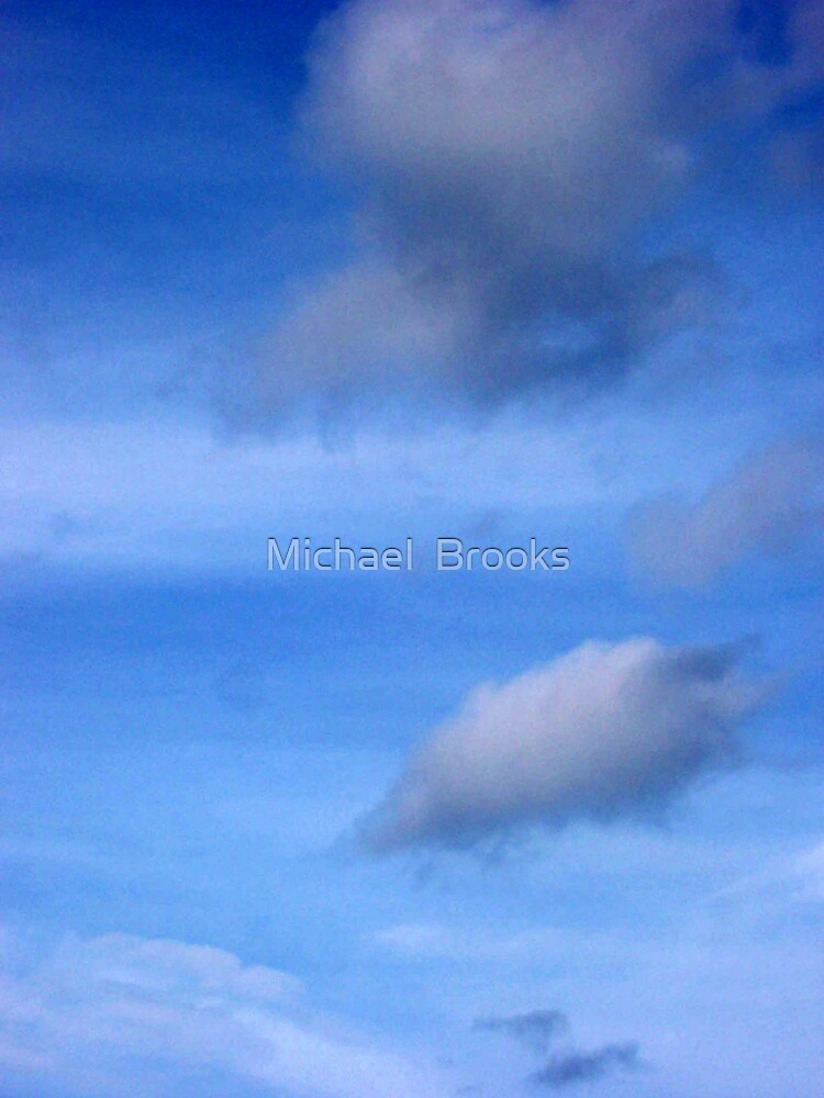 Clouds 013 by Michael  Brooks