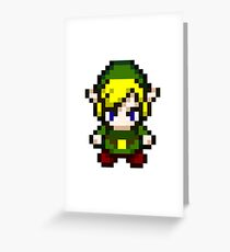 Zelda - Pixel Greeting Card
