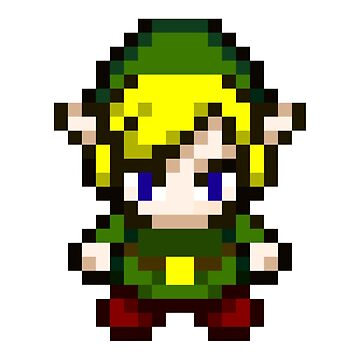 Zelda - Pixel by PixelProducts