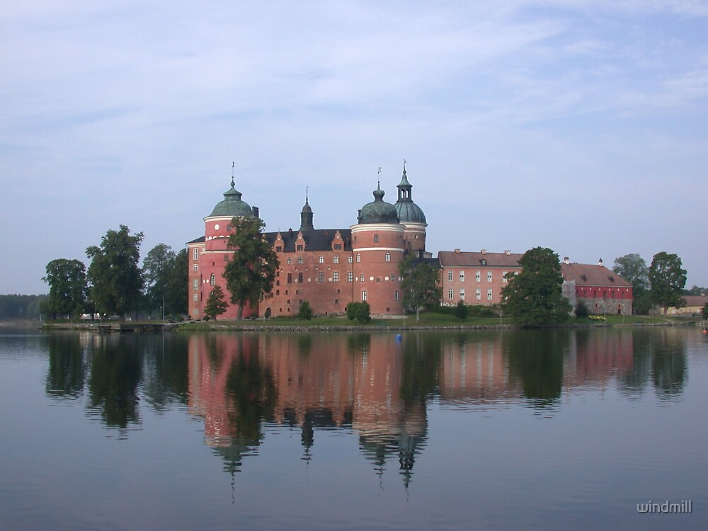 Gripsholm by windmill
