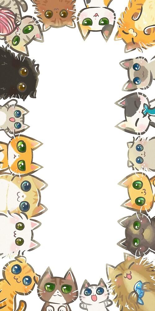 The Cat World by YenniChau