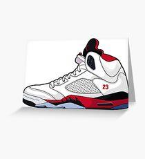 Basketball shoe! Greeting Card