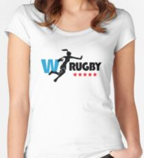 Womens Rugby Women's Fitted Scoop T-Shirt