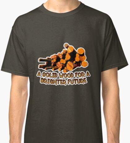 Wood t-shirt Classic T-Shirt
