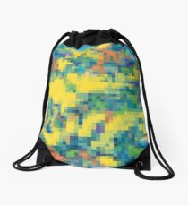 colorful image Drawstring Bag