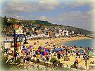 A Crowded Beach by Charmiene Maxwell-Batten