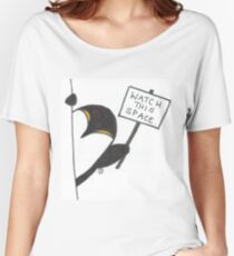Penguin - Watch this space Women's Relaxed Fit T-Shirt