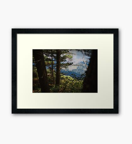 A Slice of Heaven Framed Print