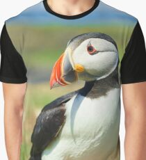 Portrait of a Puffin Graphic T-Shirt