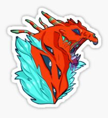 Monster Maw Red Sticker