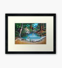 Forest Community Framed Print