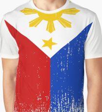 Philippines Flag Pride Graphic T-Shirt