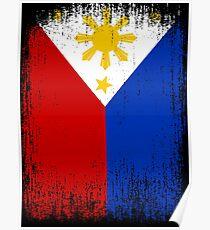 Philippines Flag Pride Poster