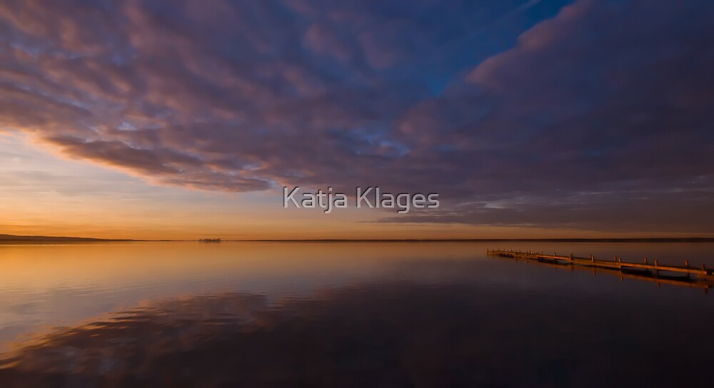 glorious sunset by Katja Klages