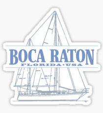 Boca Raton Florida Sticker