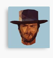 Clint Eastwood - The Good, the Bad and the Ugly Canvas Print