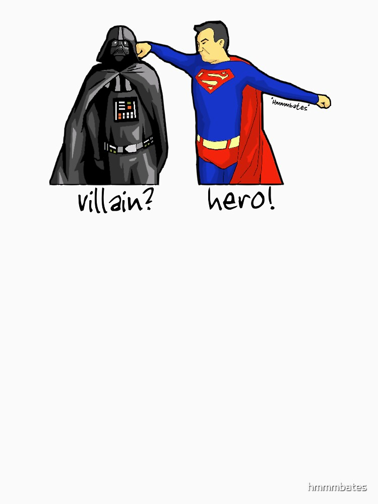 heros and villains!? by hmmmbates