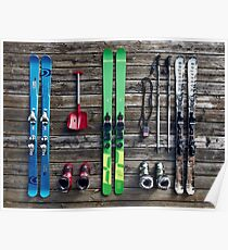 Ski Equipment  Poster