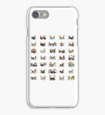35 Pixel Drum Sets iPhone Case/Skin
