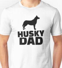 Husky Dad Unisex T-Shirt