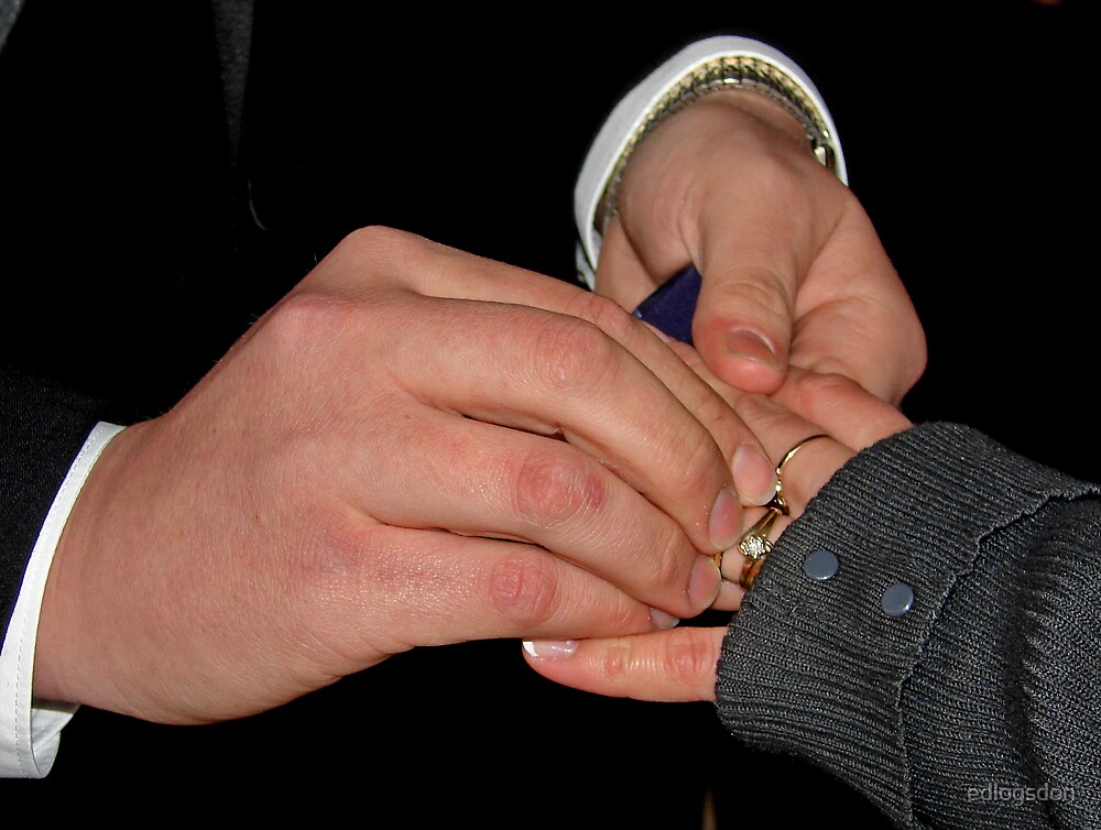 WITH THIS RING I THEE WED by edlogsdon