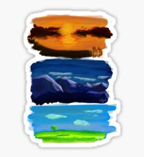 Landscapes Sticker
