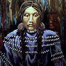 """Purple Dress With Shells"" by Susan McKenzie Bergstrom"