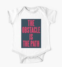 THE OBSTACLE IS THE PATH Kids Clothes