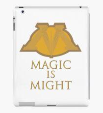 Magic Is Might iPad Case/Skin