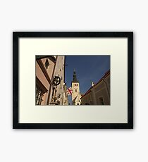 St Olaf's Church Tallinn Framed Print