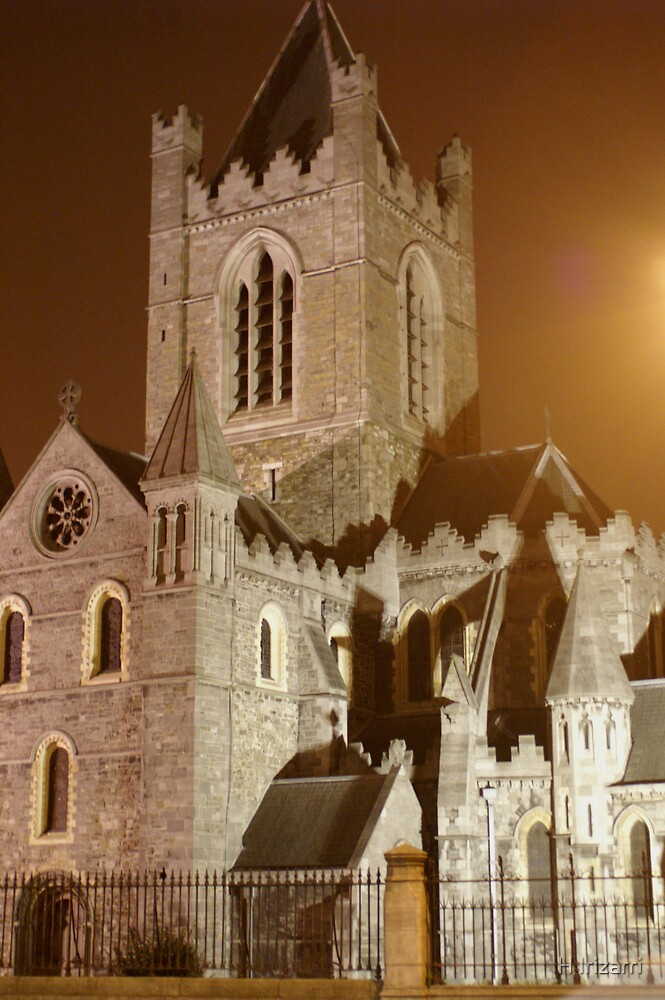 Christ Church, Dublin Ireland by Henri Irizarri